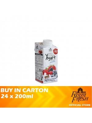 Farm Fresh UHT Mixed Berries Yogurt Drink 24 x 200ml