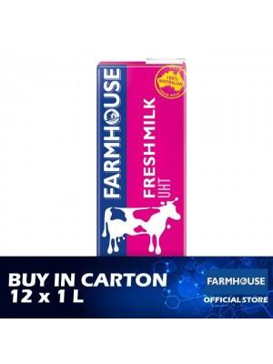 Farmhouse UHT Fresh Milk 12 x 1L [Essential]