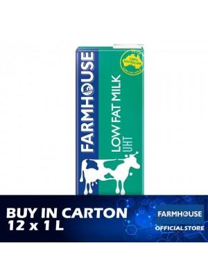 FarmHouse UHT Low Fat Milk 12 x 1L