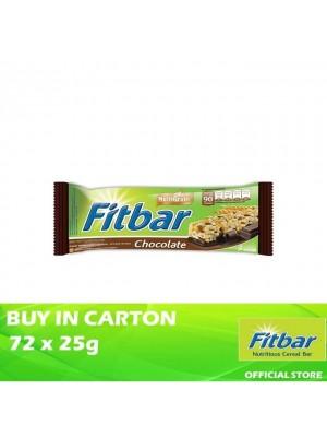 Fitbar Chocolate 72 x 25g