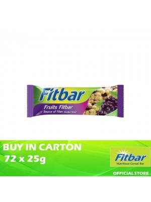 Fitbar Fruit 72 x 25g