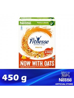 Nestle Fitnesse & Fruits with Oat Breakfast Cereal 450g