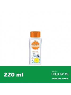 Follow Me Anti-Bacterial Body Wash - Natural Fresh 220ml