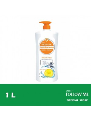 Follow Me Anti-Bacterial Body Wash - Natural Fresh 1L