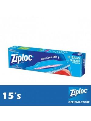 Ziploc Freezer Gallon 15's