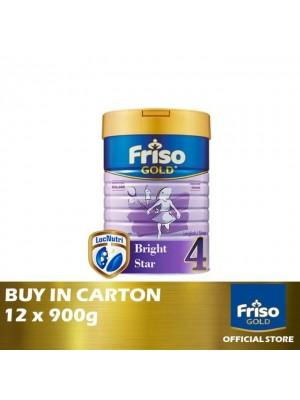 Friso Gold Step 4 12 x 900g