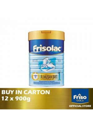 Frisolac Step 1 Rumusan Bayi 12 x 900g