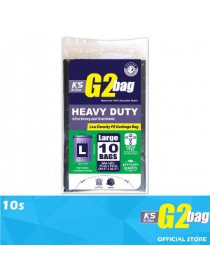 G2 Garbage Bag Heavy Duty L 10s