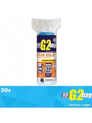 G2 Garbage Bag Star Bold M 30s