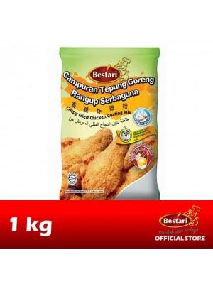 Bestari Fried Chicken Coating - Garlic 1kg [Essential]
