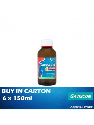 Gaviscon Advance Liquid 6 x 150ml