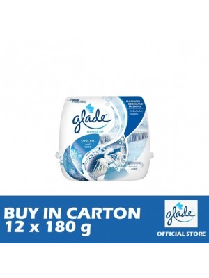 Glade Scented Gel Cool Air 12 x 180g
