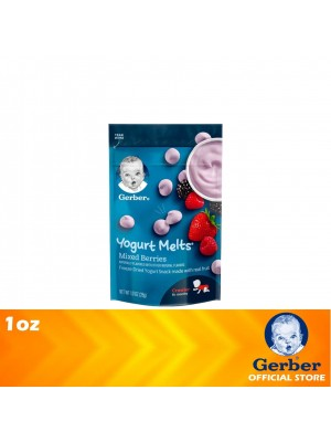 Gerber  Yogurt Melts Mixed Berry 1oz