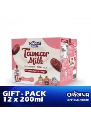 Origina Dairy Tamar Milk (Gift Pack) 12 x 200ml