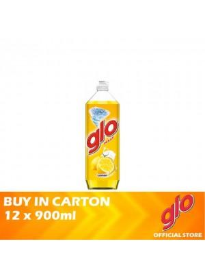 Glo Active Foam Lemon Dishwashing Liquid 12 x 900ml