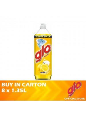 Glo Active Foam Lemon Dishwashing Liquid 8 x 1.35L