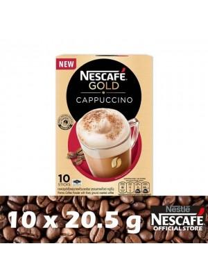 Nestle Nescafe Gold Cappuccino 10 x 20.5g