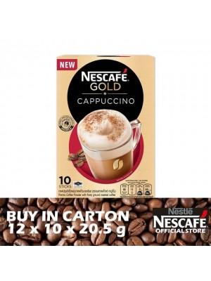 Nestle Nescafe Gold Cappuccino 12 x 10 x 20.5g
