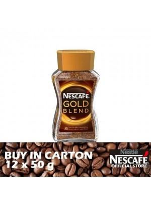 Nestle Nescafe Gold Jar 12 x 50g