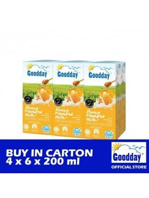 Goodday UHT Honey Combi 4 x 6 x 200ml