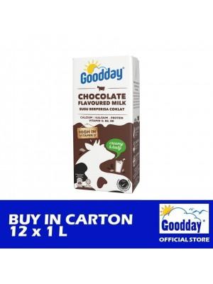 Goodday UHT Chocolate Flavoured Milk Tetra 12 x 1L