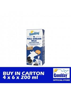 Goodday UHT Full Cream Milk Combi 4 x 6 x 200ml