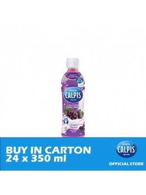 Calpis Smooth Grape Flavour Cultured Milk Drink  24 x 350ml