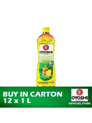 Oyoshi Green Tea Honey Lemon 12 x 1L