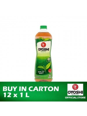 Oyoshi Green Tea Original 12 x 1L