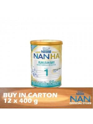 Nestle Nan HA 1 Infant Formula BL 12 x 400g