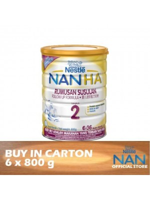Nestle Nan HA 2 Follow Up Formula BL 6 x 800g
