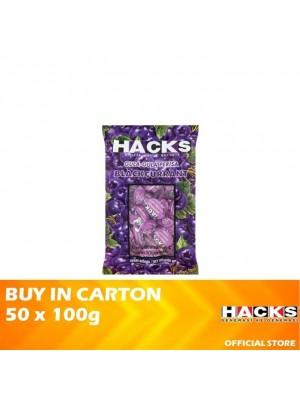 Hacks Blackcurrant 50 x 100g