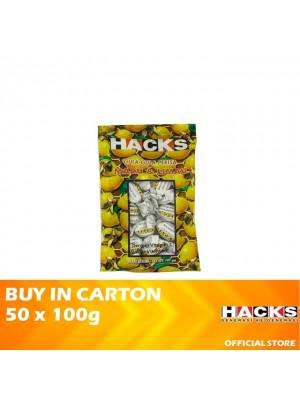 Hacks Honey Lemon 50 x 100g