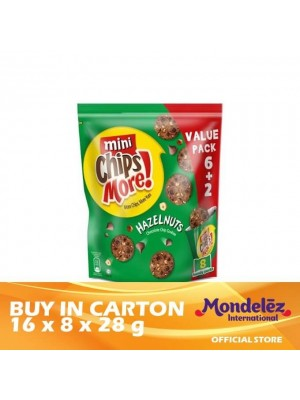 Chipsmore Hazelnut Handy Mini Pack 16 (8 x 28g)