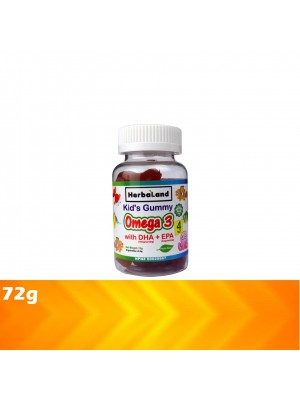 Herbaland Kid's Gummy Omega 3 with DHA/EPA 72g