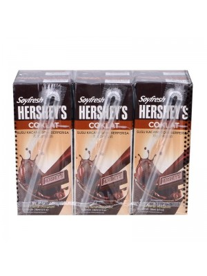 Hershey's Soyfresh Chocolate Flavoured Soya Milk 6x236ml
