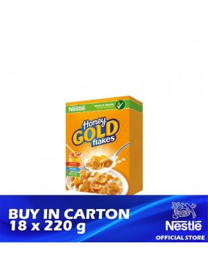 Nestle Honey Gold Breakfast Cereal 18 x 220g