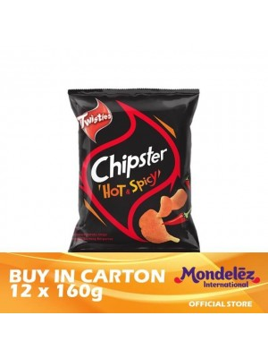 Twisties Chipster Hot & Spicy 12 x 160g [Essential]
