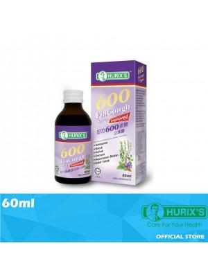 Hurix's 600 FluCough Syrup Improved 60ml