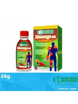 Hurix's Massage Oil with Gamat Plus 28ml