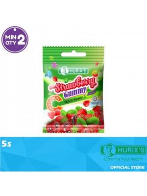 Hurix's Strawberry Flavour Gummy with Vitamin C 5s
