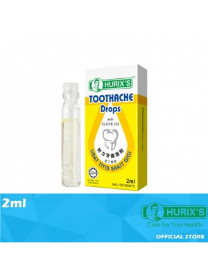 Hurix's Toothache Drop with Clove Oil 2ml
