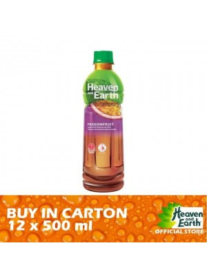 Heaven and Earth Ice Passion Fruit PET 12 x 500ml