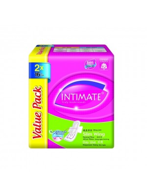 Intimate Daylite Slim Wing 2 pkts x 16 pcs (Value Pack)