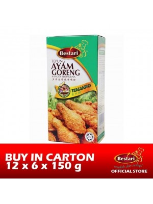 Bestari Fried Chicken Coating - Italiano 12 x 6 x 150g