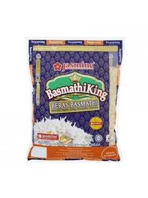 Rice-Jasmine King Beras Basmathi Special Super Long Rice 5kg