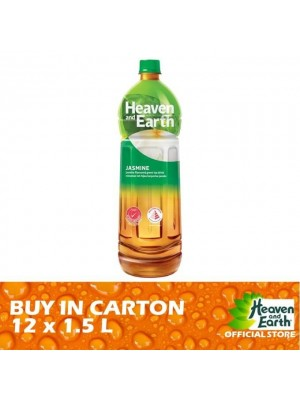 Heaven and Earth Jasmine Green Tea  PET 12 x 1.5L [Essential]