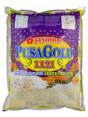 Jasmine Pusa Gold 1121 Beras Basmathi Super Long 5kg