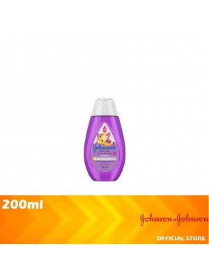 Johnson's Baby Active Kids Strong & Healthy Shampoo 200ml [MUST BUY]