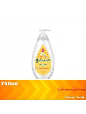 Johnson's Baby Bath Milk + Oats 750ml